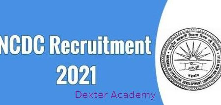 NCDC Recruitment 2021