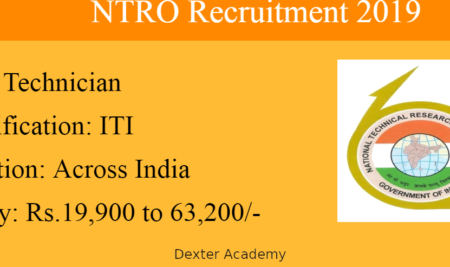 NTRO Central Government jobs for ITI holders