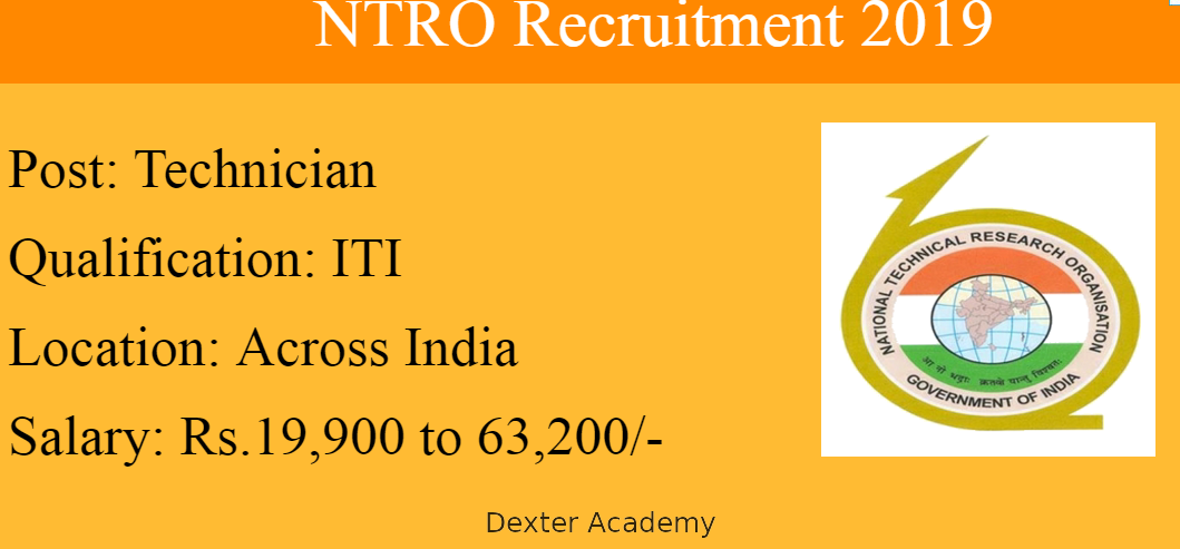 NTRO Recruitment 2021